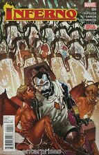 Inferno #4 Comic Book 2015 Secret Wars - Marvel