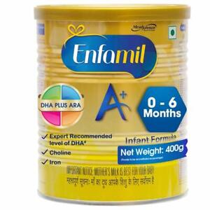 Enfamil A+ Stage 1: Infant Formula (0 to 6 months) - 400 gm free shipping