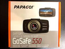 PAPAGO! - GoSafe 550 Super HD 1296p Dash Camera / Driver Assist BRAND NEW + MSD