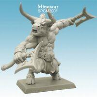 Spellcrow Miniatures - Minotaur - Umbra Turris Skirmish  28mm Monsters- SPCM2001