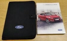 FORD MONDEO 2014-2018 HANDBOOK OWNERS MANUAL AUDIO NAVI SYNC PACK