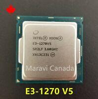 Intel Xeon E3-1270 V5 SR2LF 3.6GHz Quad 4 Core LGA 1151 80W CPU Processor