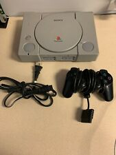Sony PlayStation Video Game Console NTSC With Controller/Power Cord Tested! PS1