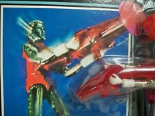 K1810692 GALACTIC WARRIOR RED MOC UNPUNCHED MINT ON CARD MICRONAUTS 1976 MEGO