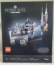 Lego Star Wars 75294 Bespin Duel New, Sealed
