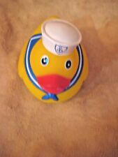Large Plastic Sailor Duck Toy Dog Pet NWT