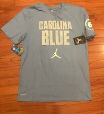 7987e712821e72 Nike Jordan Men s UNC Carolina Tar HEELS Basketball Verbiage Shirt XL