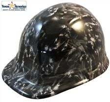 Guns and Skulls Hydro Dipped Cap Style Hard Hat with Ratchet Suspension
