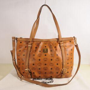 MCM Visetos Vintage Shopper Bag Authentic + Dust Bag