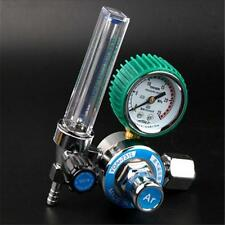 Argon CO2 Gas Mig Tig Flow Meter Regulator Weld Welding Welder Gauge Kit New