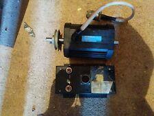 Ametek Rotron Motor 74vdc 4.5 amps .38 HP 2800 RPM PN# 523842 w/ELex ~64 Frame