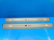 BMW E36 M3 OEM Coupe/Convertible Door Sill Trim SILBERGRAU Gray ///M 51472489750