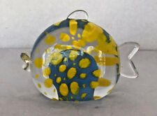 """Vintage Caithness Glass Zoo Paperweight """"Bob the Fish"""" by Sarah Peterson"""