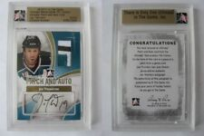 2010-11 ITG Ultimate Memorabilla Joe Thornton 1/1 patch auto GOLD 1 of 1 Sharks
