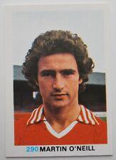 FKS Soccer Stars 1977-1978 NUMBER 290 MARTIN O'NEILL