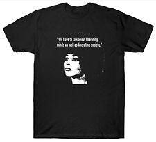 ANGELA DAVIS T SHIRT QUOTE POLITICAL ACTIVIST 1960'S