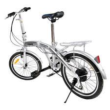 20 Zoll Silber 6-Gang Faltbar Fahrrad Klapprad Klappfahrrad Faltfahrrad Faltrad