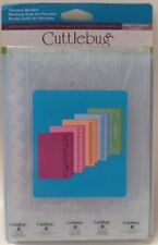 "Cricut Cuttlebug 7"" Embossing Borders, Nouveau Borders"
