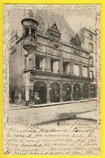 cpa RIOM MAISON des CONSULS Commerce Berton Article de PARIS à BUCHE d'AUBUSSON