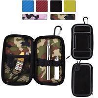 Semi-Hard Protective Personal Vaporizer Vape Pen & Battery Zipper Travel Case
