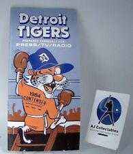 1984 DETROIT TIGERS MEDIA GUIDE- EXCELLENT CONDITION