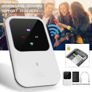 Mobiler Wireless 4G LTE WIFI Router WLAN Hotspot Breitband SIM Karten Tragbare