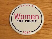 Donald Trump Official 2020 President Campaign Women For Trump Button Pin