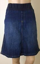 Maternity Denim Skirt Size 14 Baby Shower Winter Pregnant