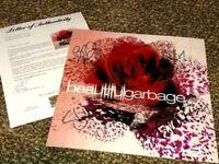 Garbage GROUP Signed Autographed BEAUTIFUL photo SHIRLEY MANSON + 3 PSA LOA