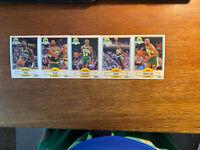 seattle supersonics Basketball Cards 1990 Fleer