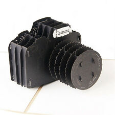 3D Pop Up Greeting Card SLR Cameras Happy Birthday Valentine Easter Thank You