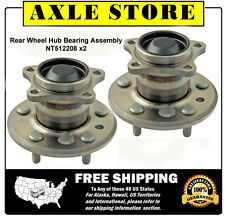 2 DTA Rear Wheel Hub Bearing Assemblies 02-09 Toyota Camry w/o ABS Pair NT512208