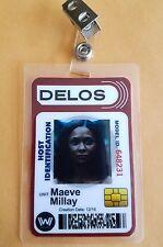 Westworld Id Badge - Maeve Millay prop cosplay costume