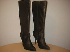 Fergie Shoes Size 6 M Women New Prance Bronze Knee High Fashion Boots NWOB