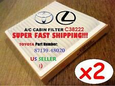 Double Pack CABIN FILTER For TOYOTA 01-07 Highlander & LEXUS 01-05 IS300  RX300