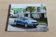 129612) Skoda Rapid Prospekt 08/2013