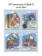 Central Africa  2019  Apollo 11 landing on the moon ,space  S201902