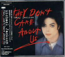 MICHAEL JACKSON They Don't Care About Us JAPAN 1996 CD W/Obi RARE!