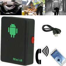 GPS GPRS GSM Security Tracker Mini A8 for Kids Children People Elder Car Vehicle