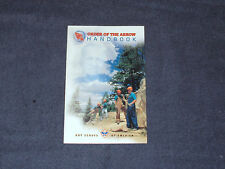 Order of the Arrow Handbook by Boy Scouts of America Staff (1994, Paperback, Rev