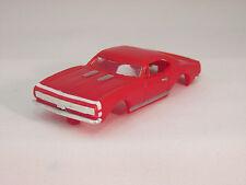 MODEL MOTORING RED W/WHITE STRIPE '67 CAMARO RS SHELL ~ NEW ~ FITS AURORA TJET