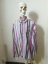 Paul Smith Long Sleeve Shirt Large Pink Stripes