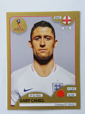 Panini World Cup 2018 Gary Cahill Chelsea/England Gold Sticker