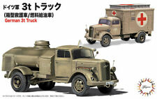 FUJIMI German 3ton Truck (Box Type Rescue Vehicle/Refueller) 1/72 Plastic model