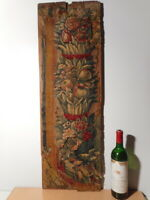 Tapisserie ancienne tissus textile ancien 16 17 siècle Aubusson ?
