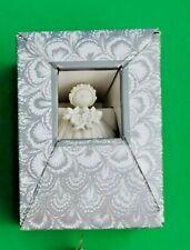 "1997 Margaret Furlong Sea Shell Angel Dogwood 3"" Christmas Ornament Mint In Box"