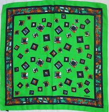-Superbe Foulard   MISSONI   100% soie  TBEG  vintage scarf