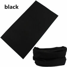 Solid Tube Scarf Bandana Head Face Mask Neck Gaiter Snood Headwear Beanie ON HOT