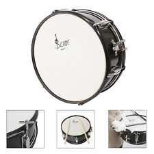 "14"" x 6.1"" Snare Drum w/ 2 Drumstick & Key & Maple Wood Shell Percussion Kit"
