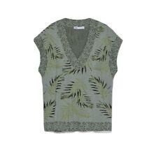 Knitted Vest Top Zara Size L